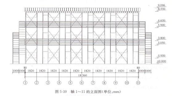 二层活动房立面图