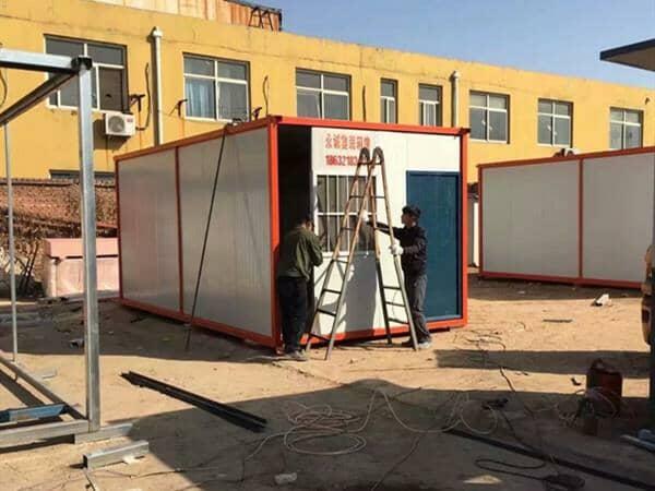 集装箱活动房对于物流行业的帮助具有一定效果