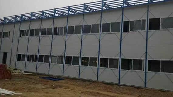 彩钢板活动房装配底子最重大