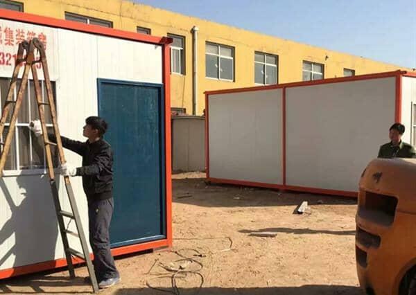 集装箱活动房打开外国市场