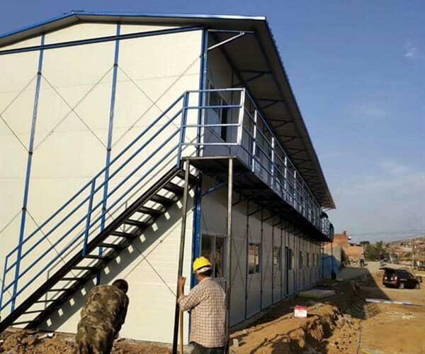 活动板房搭建希望小学