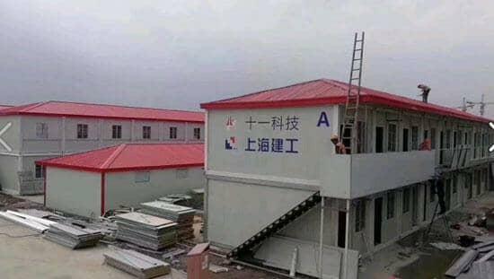 山南桑日县拼装式集装箱活动房图片案例