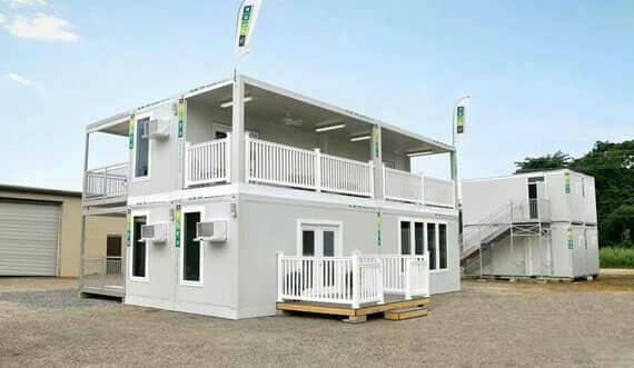 集装箱活动房给施工队带来的居住场所