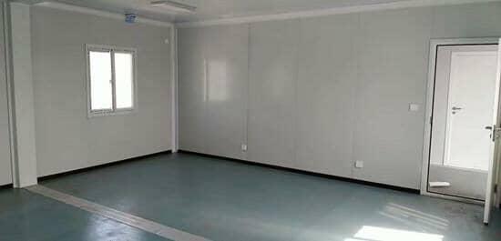 中铁标准集装箱活动房室内效果图
