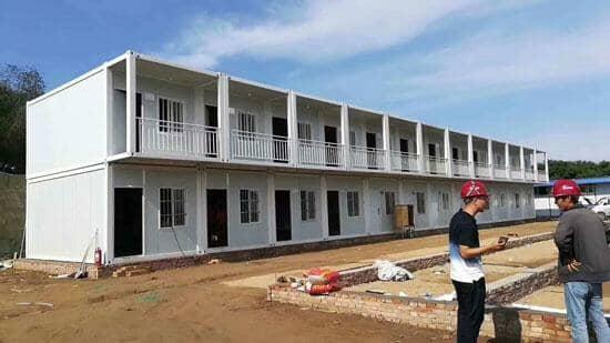 拉萨尼木县拼装集装箱房屋图片案例