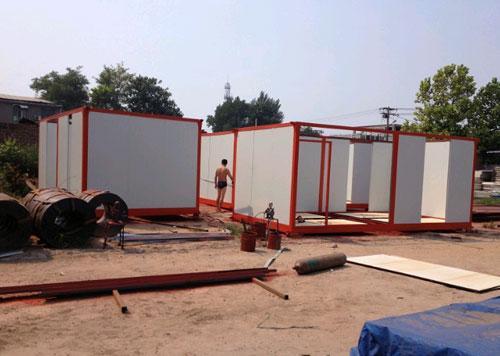 集装箱活动房农村沃尔玛图