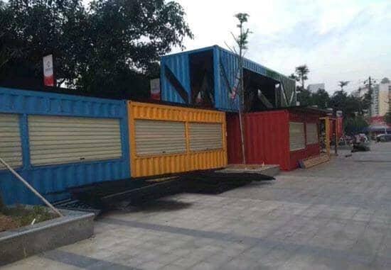 山南贡嘎县焊接式集装箱活动房图片效果案例
