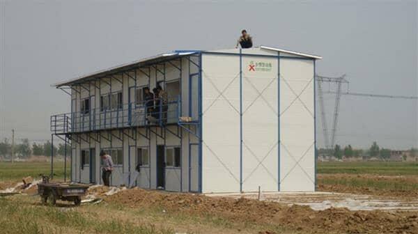 冬季气候干燥建筑工地活动板房应加强防火工作