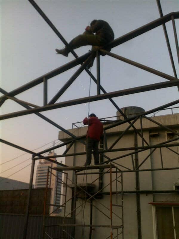 钢架焊接一般必须为满焊