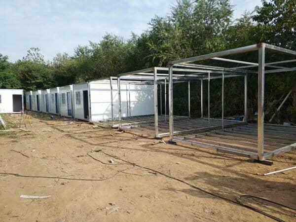 集装箱活动房的结构特点