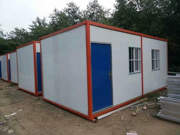 集装箱活动房的上海农庄