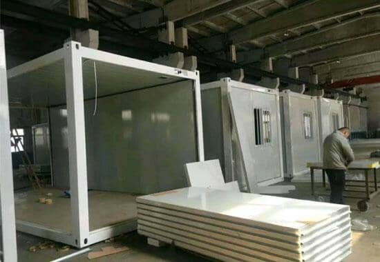 拉萨林周县拼装式集装箱活动房图片案例