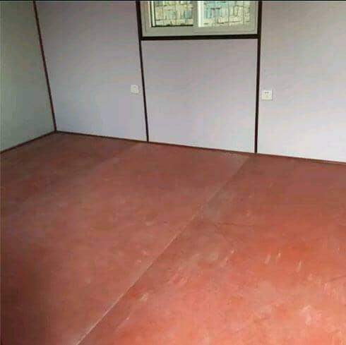 地板为防火玻镁地板