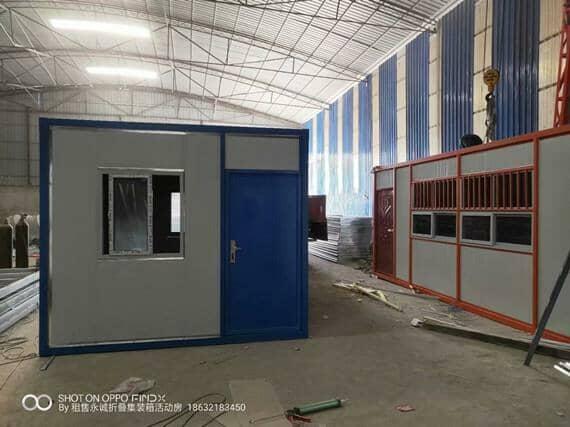 活动房逐渐被集装箱活动房取代