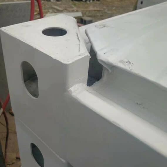 打包箱房顶部角件排水处效果图