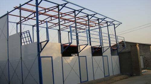 模块式标准化组装的活动板房具有抗震抗压性强等特点