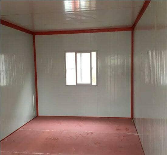 住人集装箱活动房室内地板效果