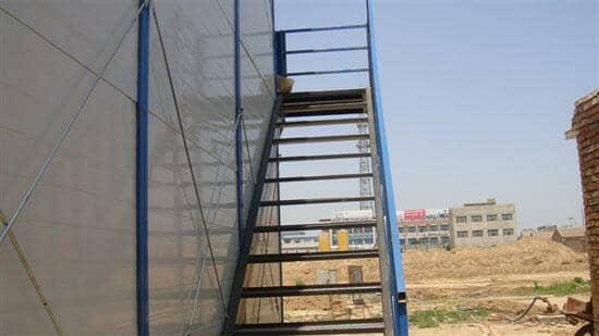 彩钢板房楼梯图