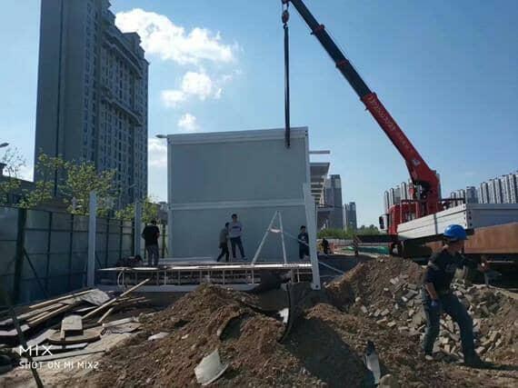居民房顶能加盖集装箱房屋吗