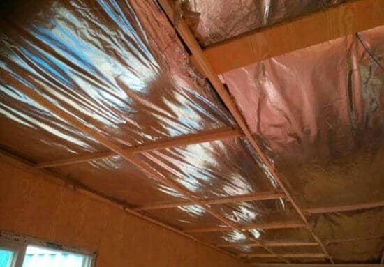 集装箱活动房顶部保温层