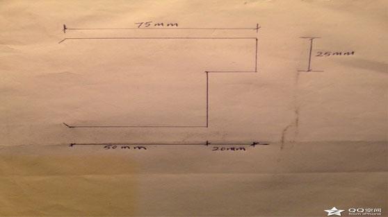活动板房门边框料设计图