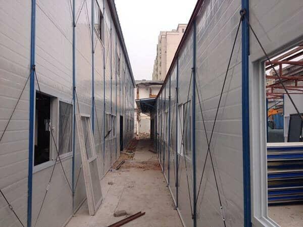 安全的轻钢活动房备受大家欢迎
