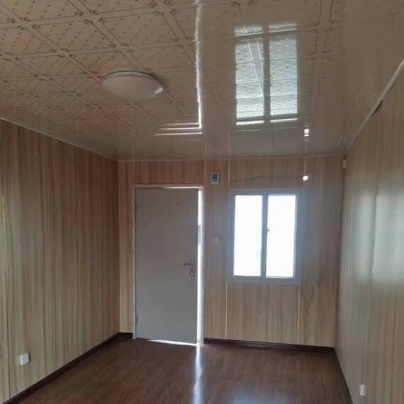 彩钢活动房室内吊顶为pvc材料