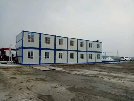 能搬迁的集装箱活动房