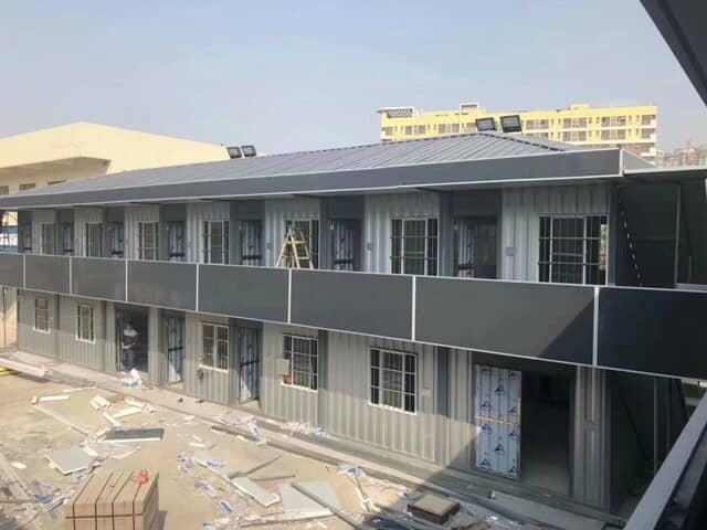 二层焊接式集装箱活动房