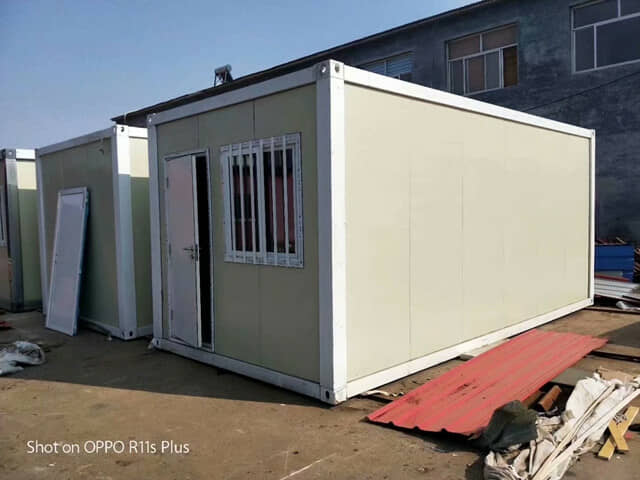 中建标准打包式集装箱活动房