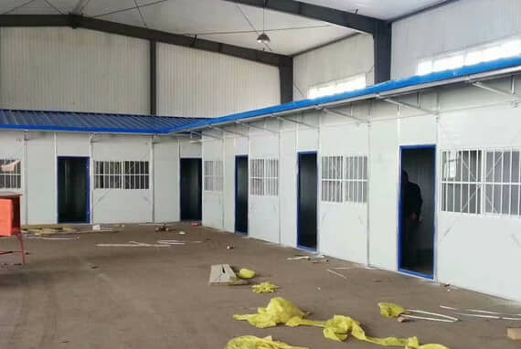 组合式彩钢活动房