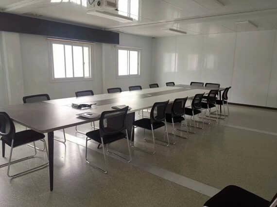 打包式集装箱活动房会议室效果