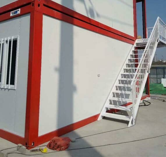 打包式集装箱活动房外置航空插座接头