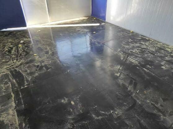 二层活动房室内地面地板效果图