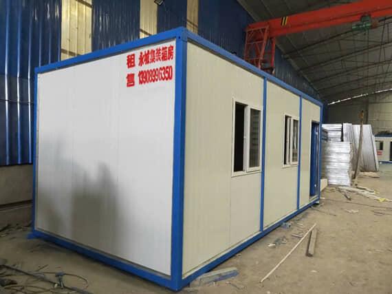 住人集装箱活动房3米面图