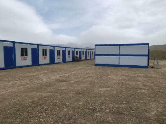 住人折叠式集装箱活动房