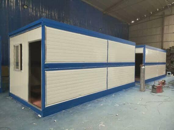 折叠住人集装箱活动房