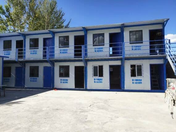 二层折叠集装箱房屋