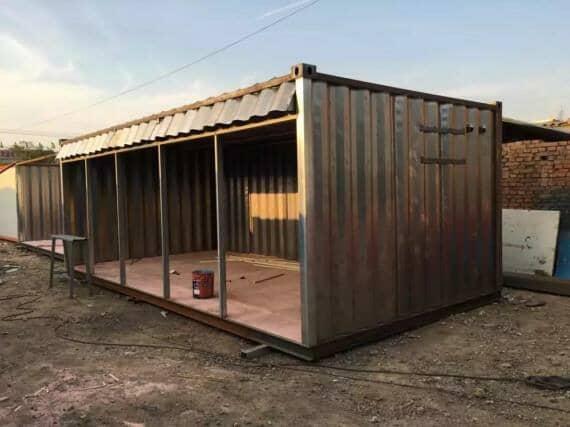 镀锌瓦楞板集装箱活动房