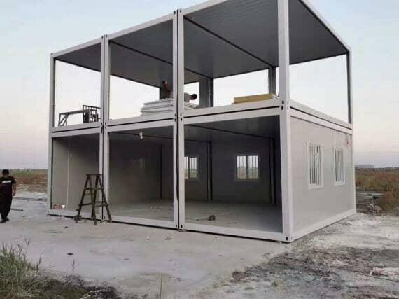 二层住人集装箱活动房