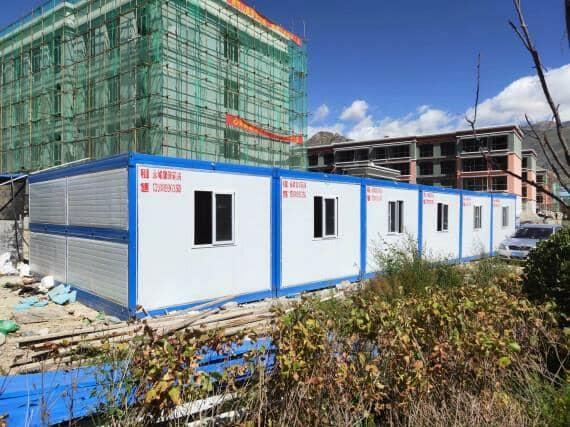 一层折叠式集装箱活动房