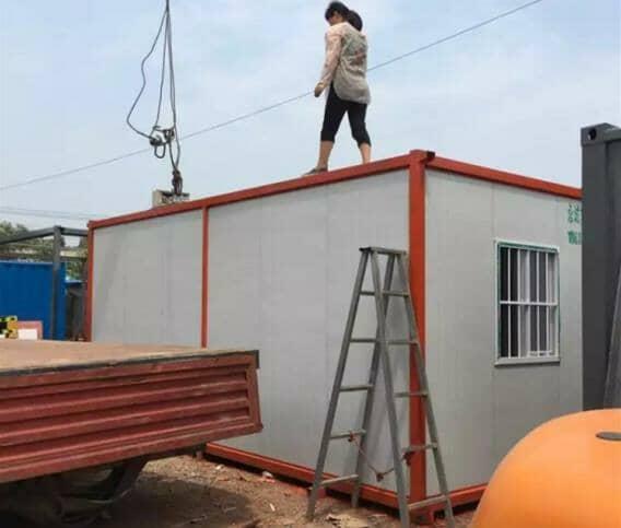 出租型住人集装箱活动房