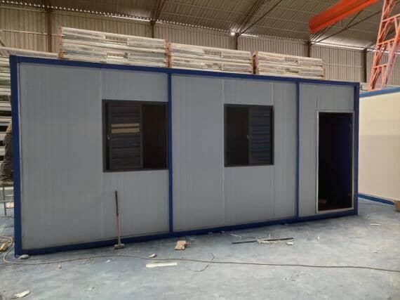 集装箱活动房窗户为推拉式铝合金窗图