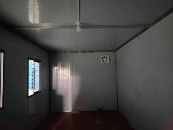 住人集装箱活动房室内图