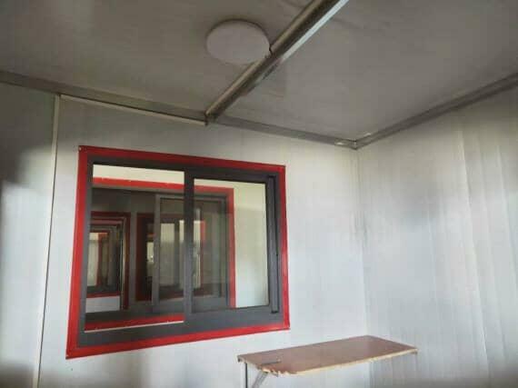 彩钢活动房室内电源灯具图